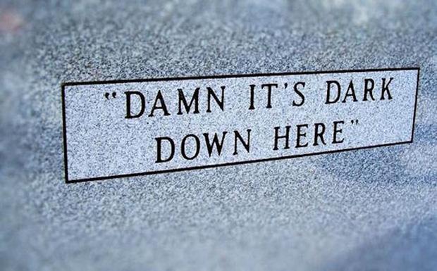 19 câu hài hước trên bia mộ của những người đã khuất nhưng độ lầy thì trường tồn cùng thời gian - Ảnh 9.