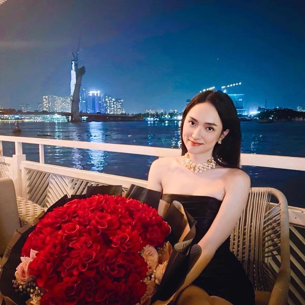 Full không che diện mạo Hương Giang trong buổi hẹn hò tối qua, lên đồ hiệu khoe body sexy thế này bảo sao Matt Liu mê - Ảnh 3.