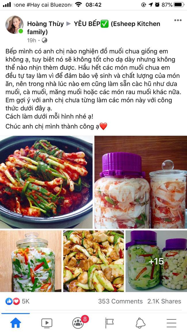 9x Sài Gòn chia sẻ loạt công thức làm các món muối chua ngon đẹp xuất sắc khiến cộng đồng mạng rần rần dậy sóng - Ảnh 1.