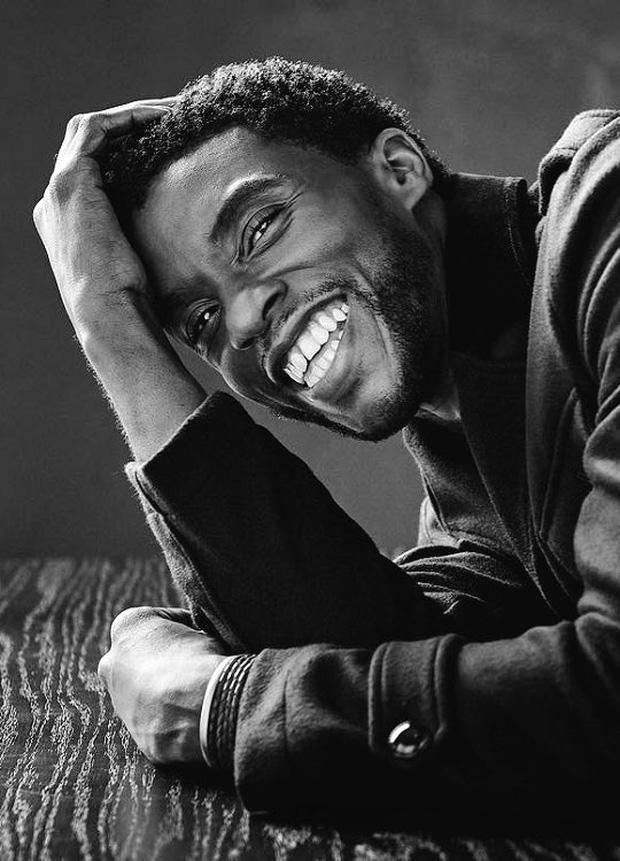 Bài đăng cuối cùng của Black Panther Chadwick Boseman: Giây phút cuối vẫn rạng rỡ nụ cười lạc quan đến đau xót - Ảnh 2.