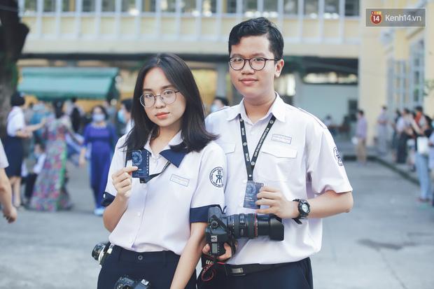 Loạt visual gây thương nhớ trong ngày khai giảng của trường THPT chuyên Trần Đại Nghĩa - Ảnh 9.