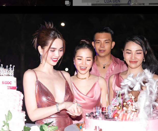 Ngọc Trinh tung loạt ảnh căng đét trong tiệc sinh nhật: Nguyên team đi ra hết để nữ hoàng nội y chiếm trọn spotlight - Ảnh 2.
