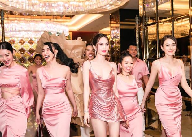 Ngọc Trinh tung loạt ảnh căng đét trong tiệc sinh nhật: Nguyên team đi ra hết để nữ hoàng nội y chiếm trọn spotlight - Ảnh 6.