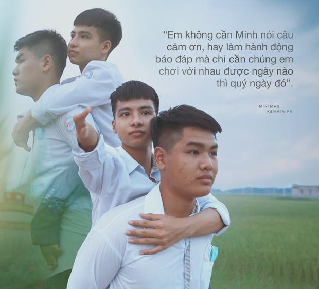 ĐH Y Thái Bình hỗ trợ học phí cho nam sinh 10 năm cõng bạn đến trường, BV Bạch Mai sẵn sàng thăm khám cho Tất Minh suốt năm tháng đại học - Ảnh 1.