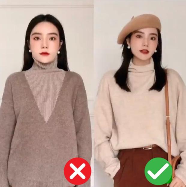 Đã thử các kiểu áo len, nàng BTV chỉ ra 4 lưu ý để các nàng chọn được chiếc chuẩn điểm 10 - Ảnh 1.
