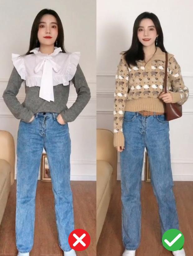 Đã thử các kiểu áo len, nàng BTV chỉ ra 4 lưu ý để các nàng chọn được chiếc chuẩn điểm 10 - Ảnh 8.