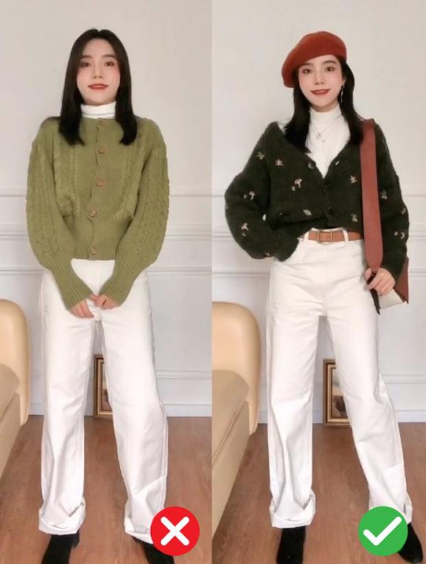 Đã thử các kiểu áo len, nàng BTV chỉ ra 4 lưu ý để các nàng chọn được chiếc chuẩn điểm 10 - Ảnh 4.