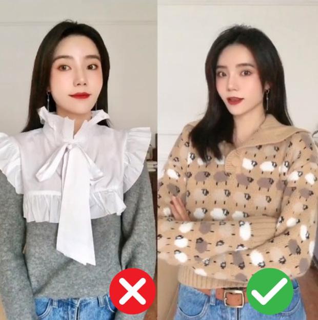 Đã thử các kiểu áo len, nàng BTV chỉ ra 4 lưu ý để các nàng chọn được chiếc chuẩn điểm 10 - Ảnh 7.