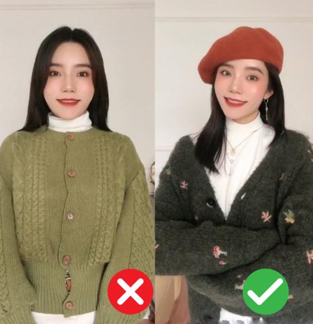 Đã thử các kiểu áo len, nàng BTV chỉ ra 4 lưu ý để các nàng chọn được chiếc chuẩn điểm 10 - Ảnh 3.