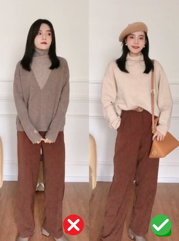 Đã thử các kiểu áo len, nàng BTV chỉ ra 4 lưu ý để các nàng chọn được chiếc chuẩn điểm 10 - Ảnh 2.
