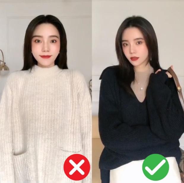 Đã thử các kiểu áo len, nàng BTV chỉ ra 4 lưu ý để các nàng chọn được chiếc chuẩn điểm 10 - Ảnh 5.