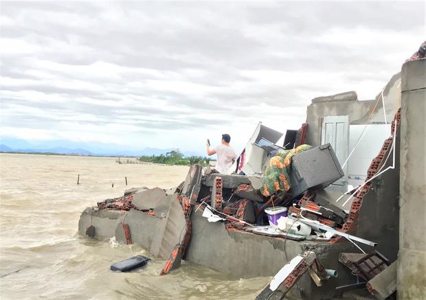 Thông tin về thiệt hại ban đầu do bão số 13 gây ra tại miền Trung - Ảnh 1.