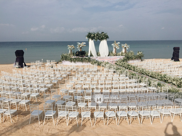 """2 siêu đám cưới hot nhất Vbiz tại Phú Quốc: Đông Nhi và Công Phượng đều mời dàn khách khủng, khung cảnh hôn lễ đẹp """"lả người"""" - Ảnh 8."""