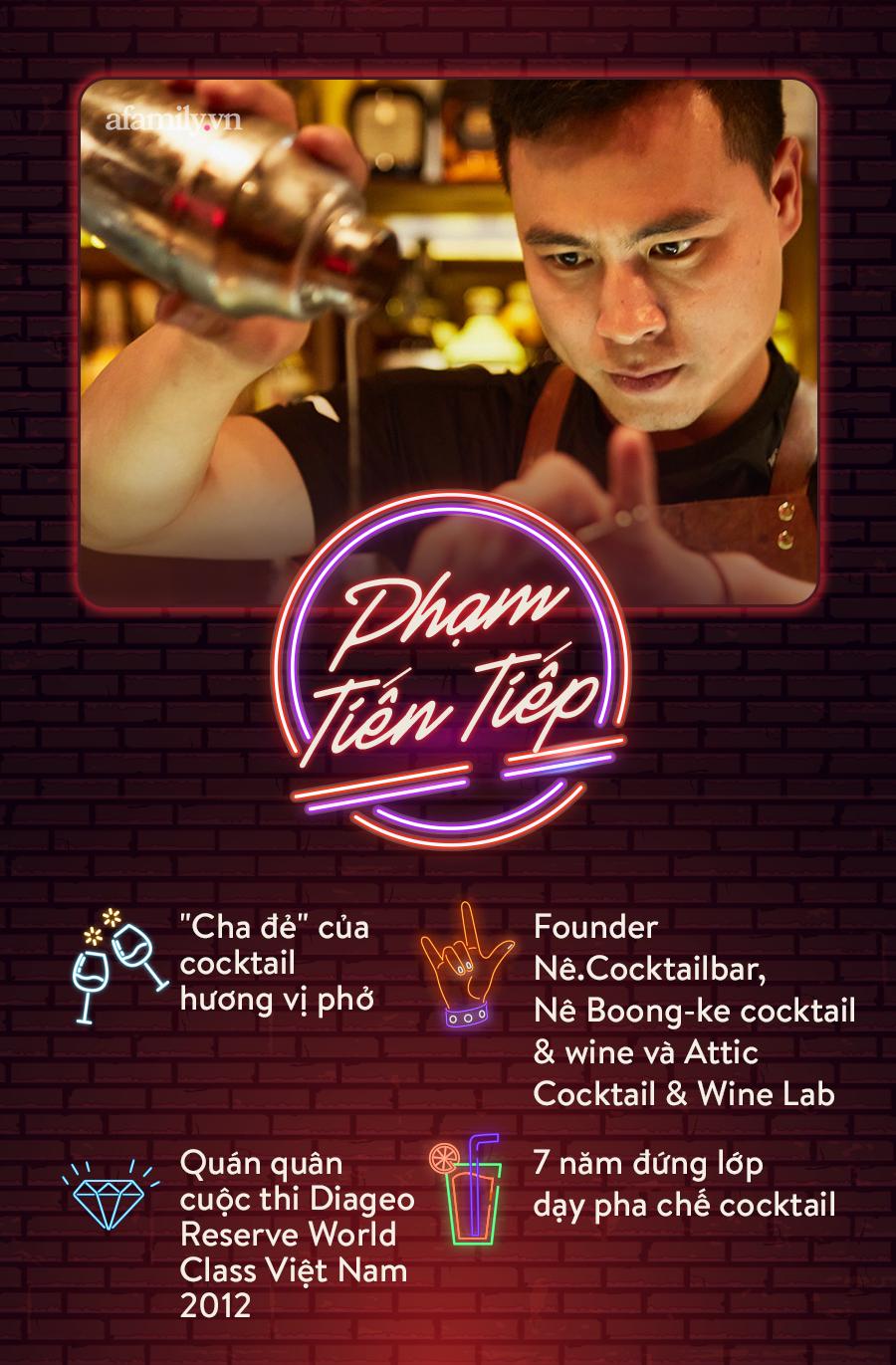 Người đàn ông đứng sau hàng loạt quán pub nổi tiếng ở Hà Nội chia sẻ về nghề dạy pha chế cocktail: Bài học đầu tiên tôi dạy học trò của mình là biết chiều khách đúng cách và cản khách đúng lúc! - Ảnh 2.