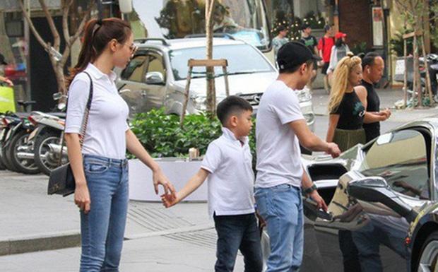 Cường Đô La đăng ảnh cả gia đình mừng sinh nhật Đàm Thu Trang, hành động của Subeo với mẹ kế chiếm spotlight - Ảnh 5.