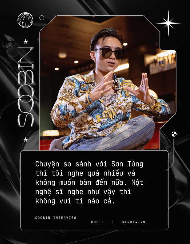 Soobin: Tôi hoàn toàn bị thuyết phục bởi Binz, ra nhạc dân chơi vì muốn thoải mái đi club hơn - Ảnh 12.