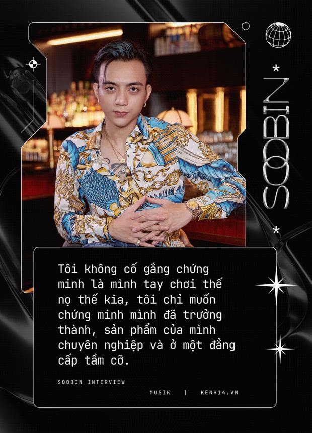 Soobin: Tôi hoàn toàn bị thuyết phục bởi Binz, ra nhạc dân chơi vì muốn thoải mái đi club hơn - Ảnh 17.