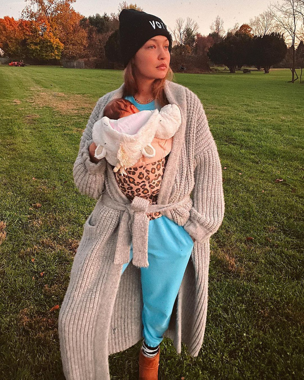 Mẹ bỉm 9x đẹp nhất Hollywood gọi tên Gigi Hadid: Đăng ảnh selfie thôi mà 3 triệu người chết mê, ai ngờ vừa lâm bồn 4 tháng - Ảnh 3.