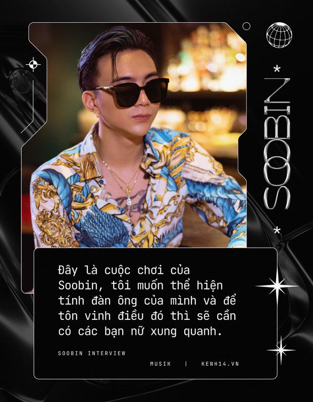 Soobin: Tôi hoàn toàn bị thuyết phục bởi Binz, ra nhạc dân chơi vì muốn thoải mái đi club hơn - Ảnh 3.