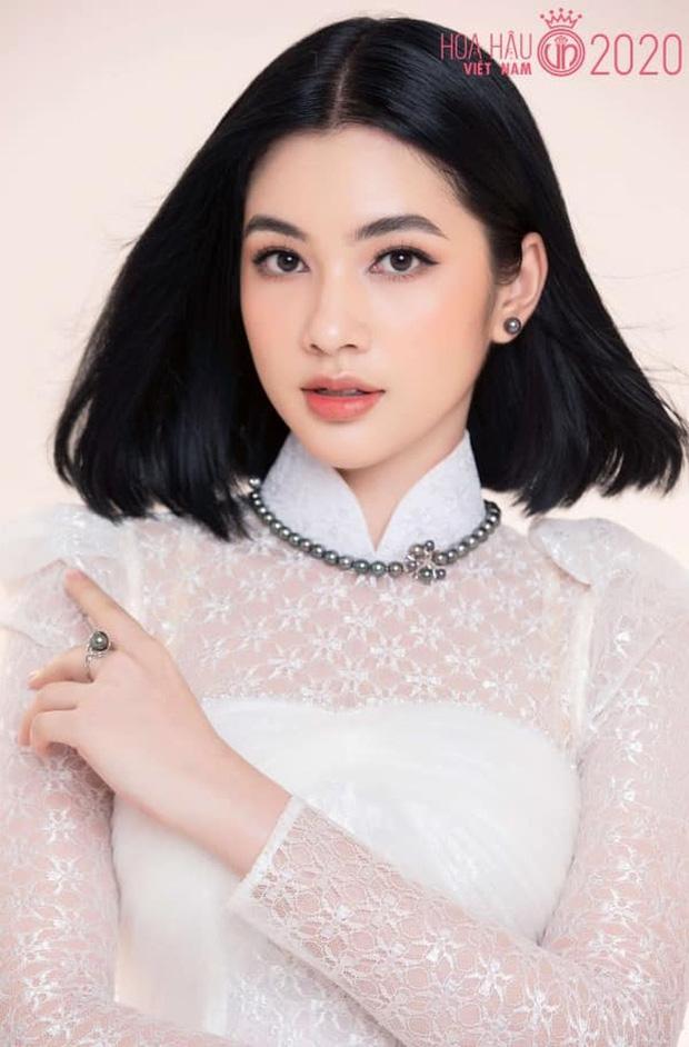 Profile Cẩm Đan - tình trẻ kém 27 tuổi của chồng cũ Lệ Quyên: Là thí sinh nhỏ tuổi nhất cuộc thi HHVN 2020, đối thủ đáng gờm của Đỗ Thị Hà - Ảnh 4.