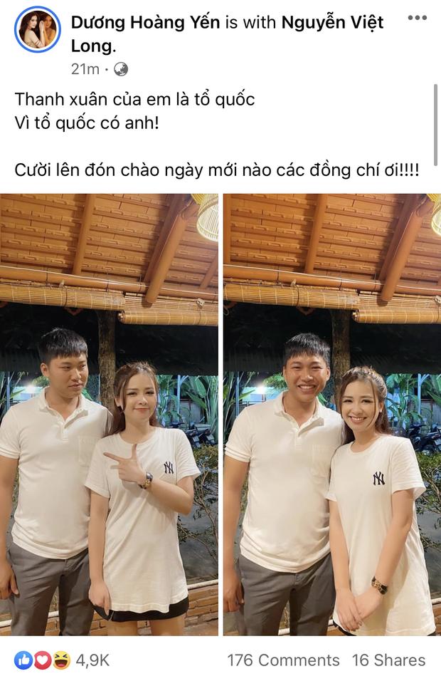 Dương Hoàng Yến công khai thả thính Mũi trưởng Long, netizen lập tức réo gọi Hậu Hoàng - Ảnh 1.
