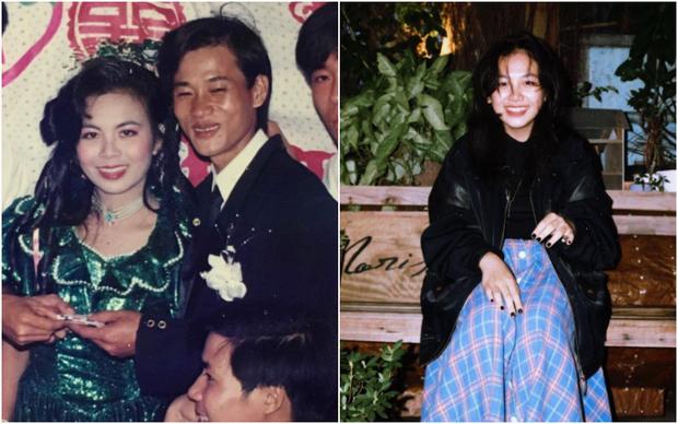 Khoe ảnh cưới khi mẹ vừa tròn 18 tuổi, cô gái bị ghen nhẹ vì được hưởng trọn nhan sắc cực phẩm - Ảnh 1.