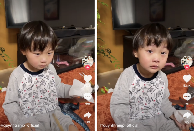 Quỳnh Trần JP vấp ý kiến trái chiều khi xưng tao gọi bé Sa là mày trong clip phạt con tung lên mạng - Ảnh 1.