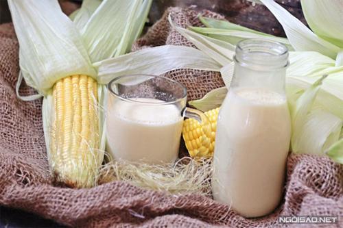 Món ngon mỗi ngày: Sữa ngô 'nóng hổi vừa thổi vừa măm'