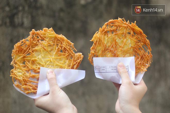 Hàng bánh khoai tăm chỉ có 1 ở Hà Nội, đố ai tìm được hàng thứ 2