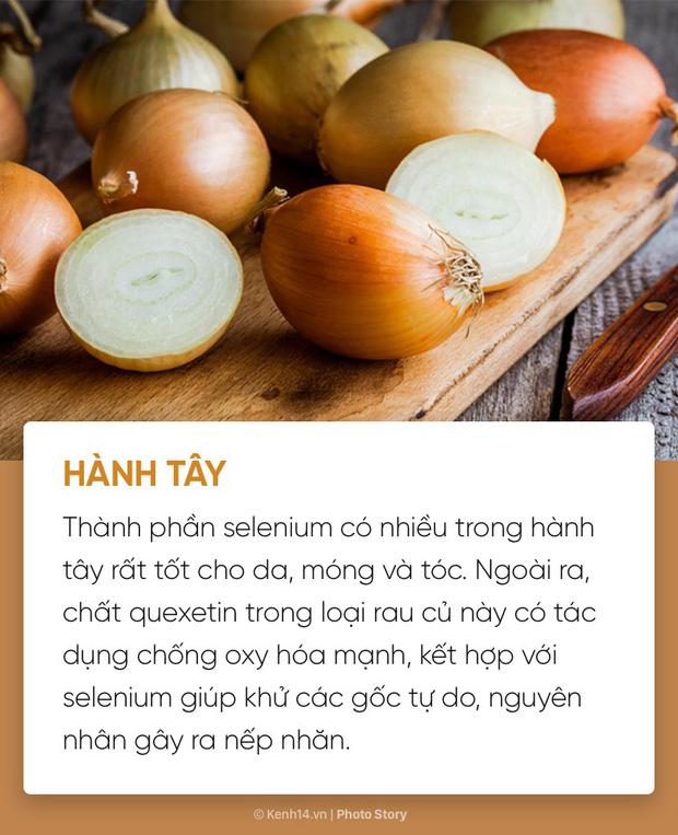 """6 loại thực phẩm giúp duy trì sắc đẹp """"ngàn năm' cho các nàng"""
