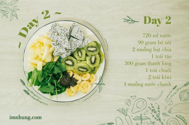 Nàng 9X chia sẻ kinh nghiệm xương máu khi 'uống' rau-củ-quả để giảm 6kg trong 12 ngày