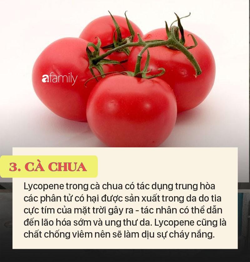 Top 5 thực phẩm có thể bảo vệ làn da của bạn khỏi tác hại của ánh mặt trời và khỏe đẹp mãi tuổi 20
