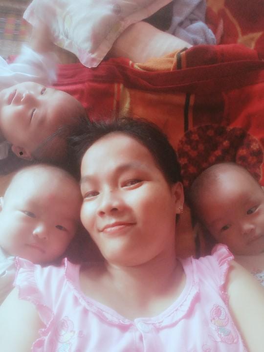 Hành trình mang thai gian nan, sinh xong còn khổ cực gấp trăm lần của mẹ sinh 3 ở Trà Vinh