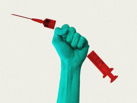 Anti vắc-xin: 'Tôi thấy lão Thần Chết đứng bên kia giường, cười khinh bỉ!'