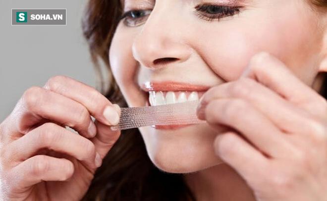 Các nhà khoa học cảnh báo: Làm trắng răng kiểu này có thể gây hại cho răng