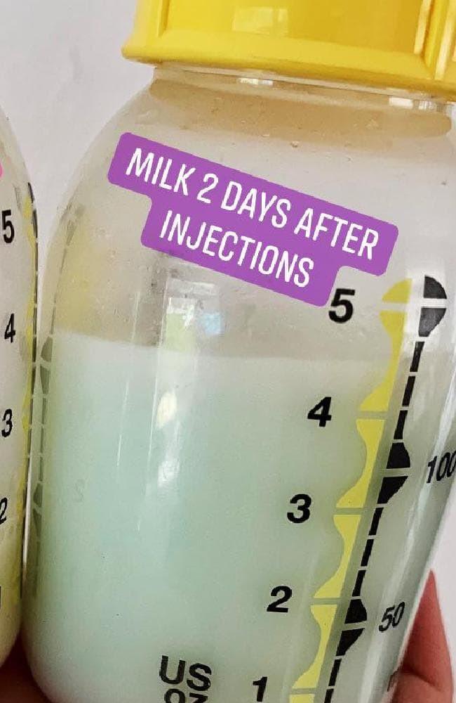 Bức ảnh về sự thay đổi màu sắc trong sữa mẹ và sự thật đằng sau khiến các mẹ trầm trồ