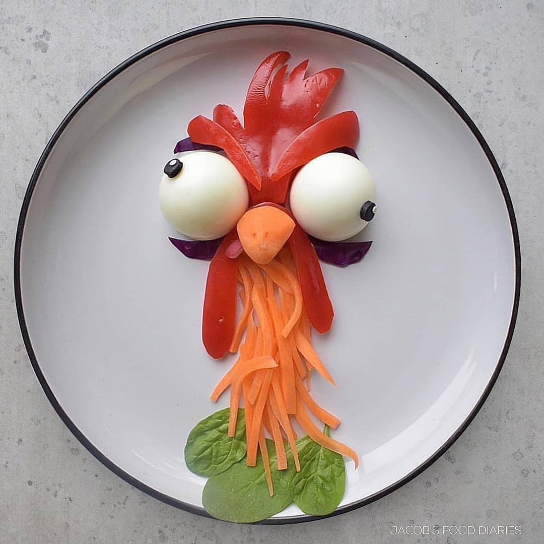 Dụ con ăn rau, bà mẹ bỗng nổi tiếng thế giới với những món ăn được trang trí từ các loại thực phẩm dễ tìm mà bổ dưỡng