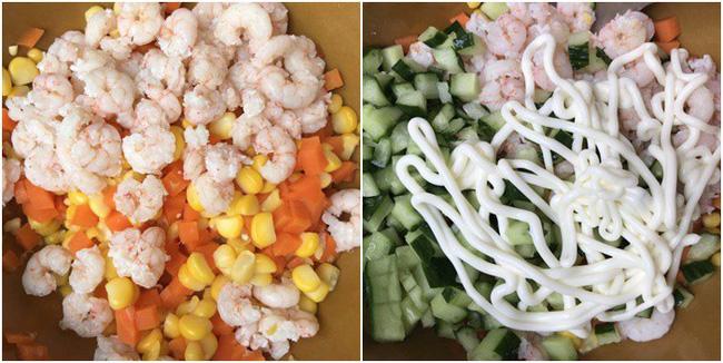 """3 ngày Tết ăn dư thừa chất rồi, tối nay làm đĩa salad """"nhẹ tênh"""" này chống ngán cân bằng khẩu vị"""