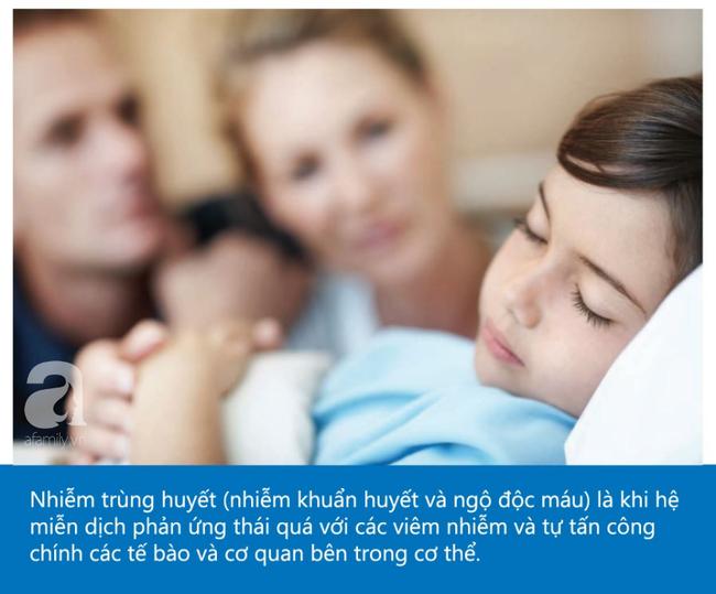Một người mẹ chia sẻ hình ảnh của con trai để các bà mẹ khác biết đó là dấu hiệu cảnh báo bệnh nhiễm trùng huyết