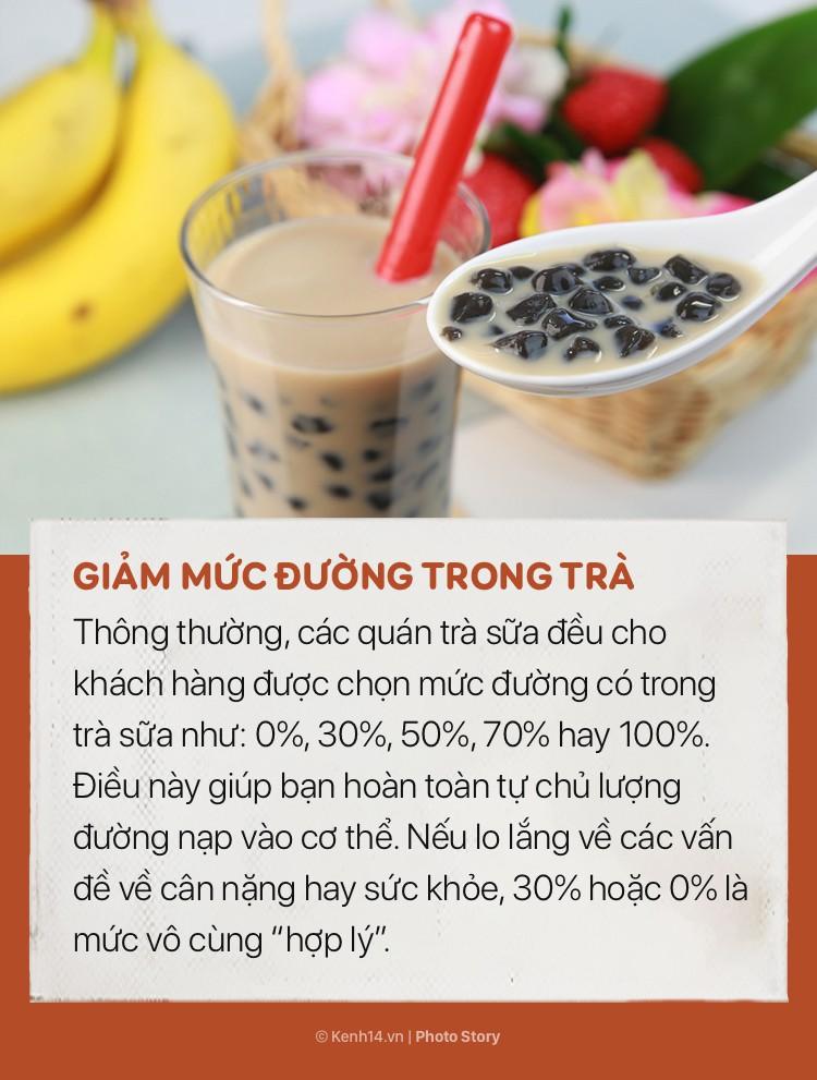 Nhiều người thích uống trà sữa nhưng không phải ai cũng biết những mẹo nhỏ để không bị tăng cân này