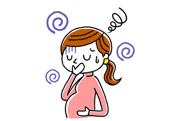 Bí quyết giúp mẹ bầu giảm chóng mặt khi mang thai