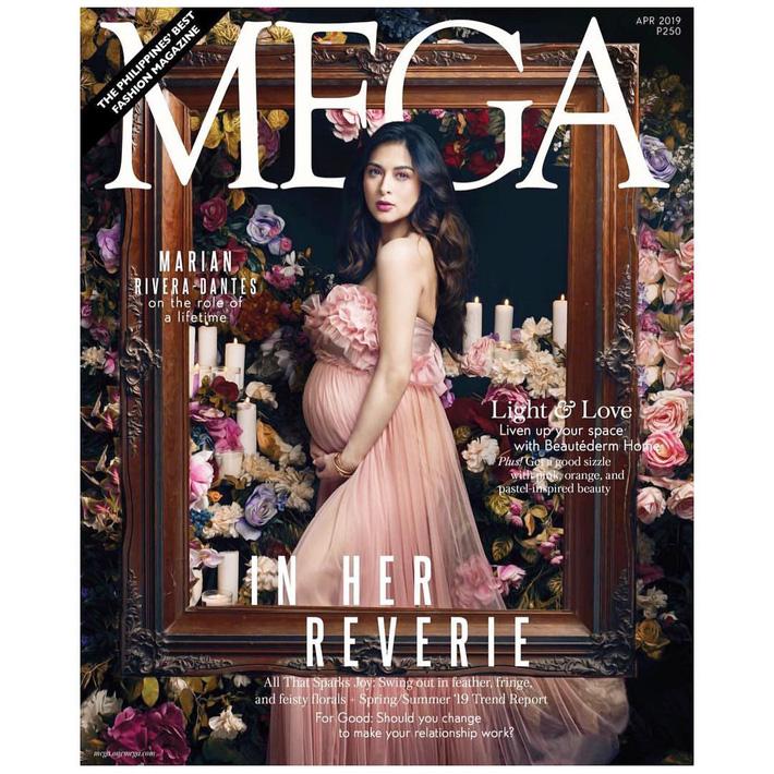 """""""Bà mẹ đẹp nhất Philippines"""" Marian Rivera chứng minh thần thái đỉnh cao trong bộ ảnh khoe bụng bầu 8 tháng"""