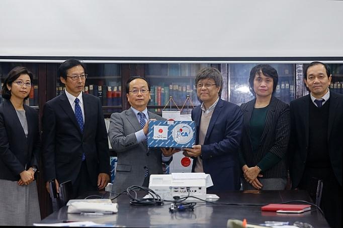 Nhật Bản hỗ trợ Việt Nam phòng chóng dịch nCoV