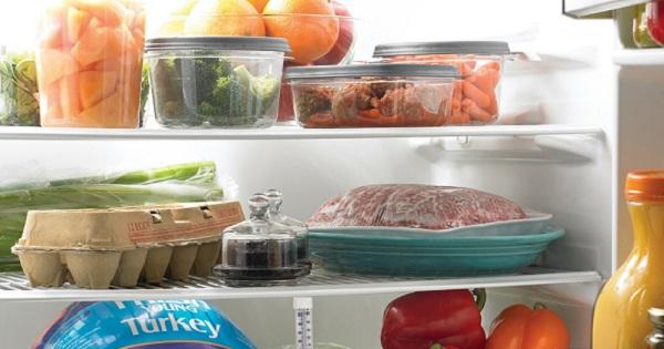 Sai lầm khi sắp xếp đồ ăn trong tủ lạnh ngày Tết