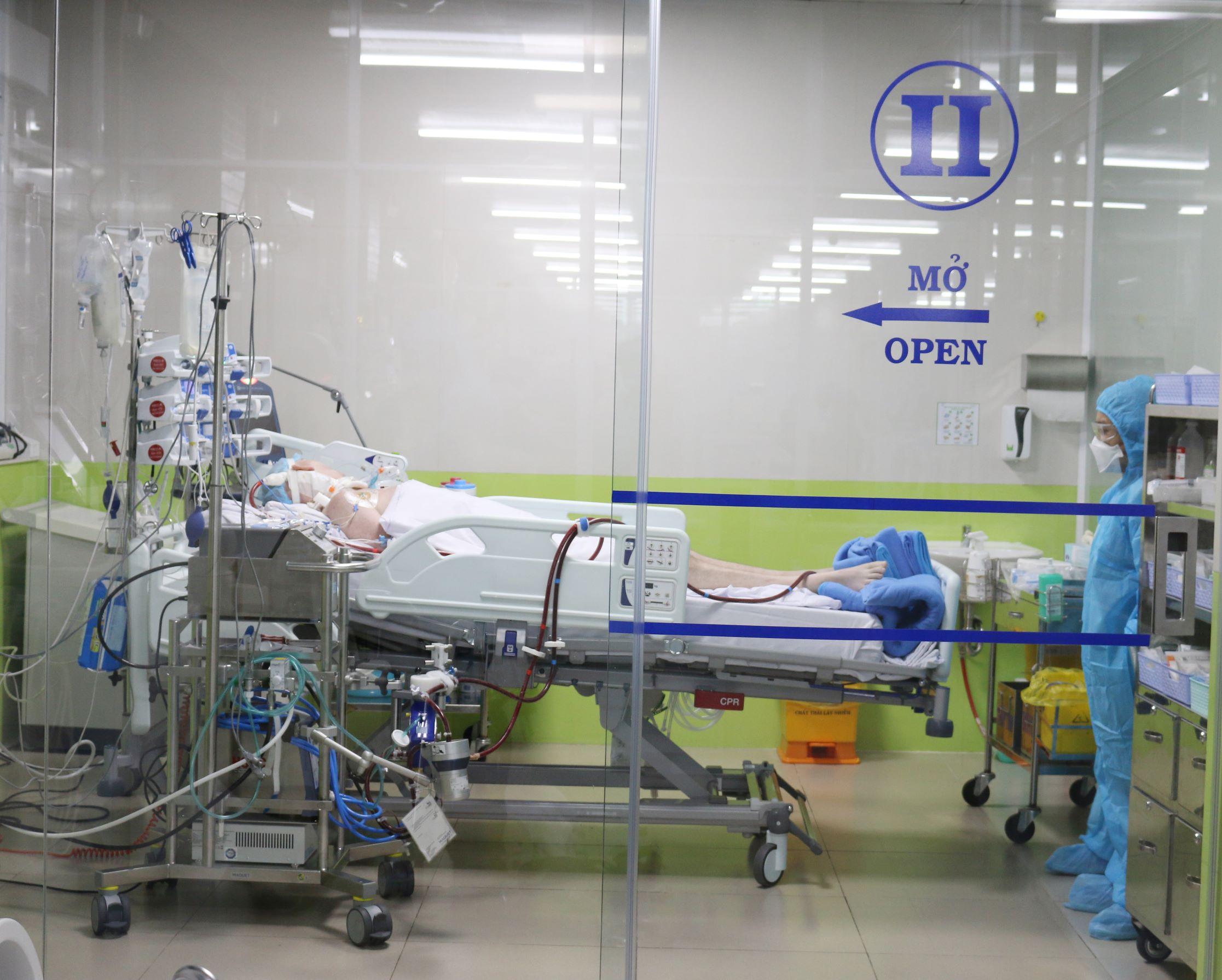 Bệnh nhân 91 chuyển sang BV Chợ Rẫy, còn 4 bệnh nhân đang điều trị tại các cơ sở y tế của TP Hồ Chí Minh