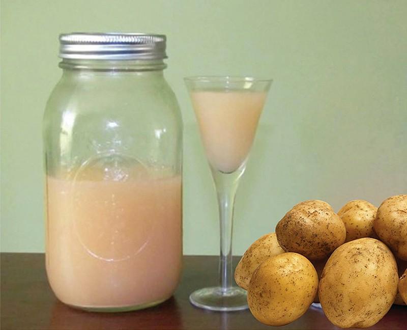 Những công dụng tuyệt vời của nước ép khoai tây
