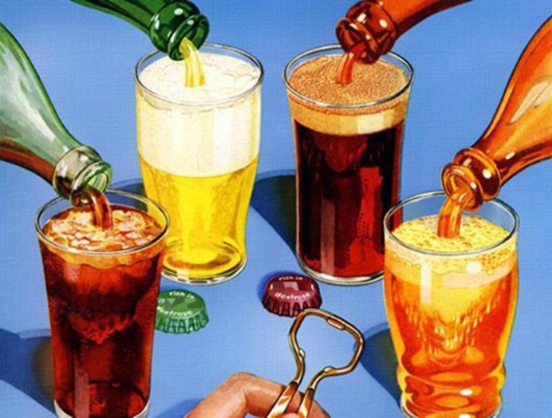 Những loại thức uống không nên dùng chung với rượu