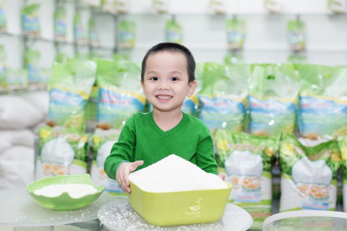 Công thức xay, trộn gạo lý tưởng để nấu cháo ngon cho bé