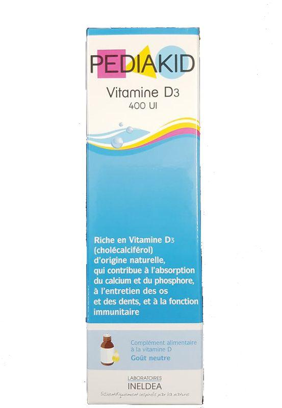 Pediakid Vitamin D3 Cho Bé Từ Sơ Sinh Của Pháp