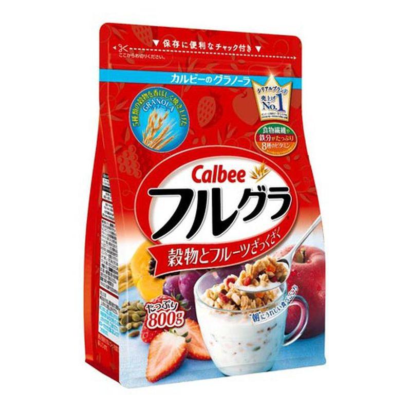 Ngũ cốc hoa quả Calbee Furugura Nhật Bản gói 800g